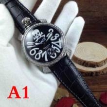 GaGa MILANOマヌアーレ 48mm ART COLLECTION 5011ART01S-BRW 時計トレンド新作  ガガミラノ スーパーコピー ストリート ウォッチ