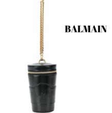 VIP価格好評品バルマン 新作コレクション BALMAIN leather bucket bagバッグ レディース コーデ 斜め掛け 品質保証 売れ筋バッグ