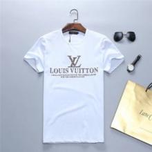 2019年夏の一押しコーデ!Louis Vuitton 新作コレクション ヴィトン コピー 激安 Tシャツ ロゴ プリント ユニセックス コットン