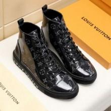 オシャレに注目ルイヴィトン コピー 靴 人気2019 スニーカー 歩きやすい Louis Vuitton モノグラム 新作 ハイカット 防水 エレガント