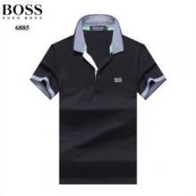 クラシックなシルエット ヒューゴボス2019年新作  HUGO BOSS  ソフトな生地感 半袖Tシャツ 多色可選 ビンテージ感のある