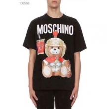 2019新作先取り日本未入荷優しいフィット感 デザイン性の高MOSCHINO モスキーノ 2色可選  Tシャツ/半袖