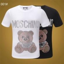 今年も大活躍間違いなしSS19限定版 モスキーノMOSCHINO Tシャツ/半袖 2色可選 着心地満足度100%HOT新作登場