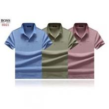 3色可選 絶大な人気 ヒューゴボス 着心地が良い一品 HUGO BOSS 着心地満足度100% 半袖Tシャツ 19春夏追跡付 人気爆発