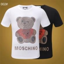 人気爆発!肌に馴染みやすい モスキーノ2色可選 イベント2019新作 MOSCHINOモスキーノ Tシャツ/半袖