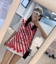 続々とお目見える夏季新作 着回し度抜群  MOSCHINO 2色可選 Tシャツ/半袖モスキーノ2018-19AW☆韓国の人気