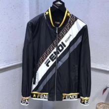 大人カジュアル快適FENDI HOODED WINDBREAKER ジャケット 着込みやすい フェンディ コピー ナイロン オシャレウェア