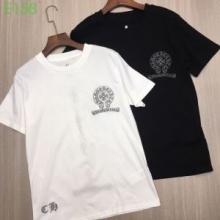 2019最新コラボ 完売間近 クロムハーツ CHROME HEARTS 半袖Tシャツ 2色可選 男女兼用 爆発的人気 再入荷