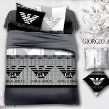 VIP SALEベットセットおすすめGIORGIO ARMANI 寝具セット アルマーニ スーパーコピー 激安 エレガント 高級都会的感 グレー