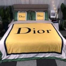 夫婦や家族で使うのにおすすめDIOR寝具 おしゃれ 4点セット ディオール ブランド コピー 布団カバーセット 安定感高い