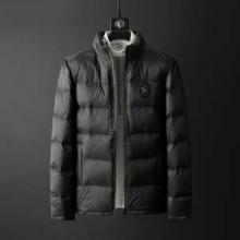 VERSACE 秋冬トレンドを押さえたコーデスタイル  ヴェルサーチ 人気高い新作おすすめ2019トレンド 2色可選 メンズ ダウンジャケット 今年トレンドの着こなし
