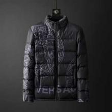 メンズ ダウンジャケット 「2019-2020秋冬」トレンド新作  ヴェルサーチ 今年からは大注目人気アイテム  VERSACE 暖かさに定評のある新作