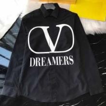 ヴァレンティノ メンズ シャツ コーデに大人こなれ感をアップ 2019秋冬 VALENTINO コピー 黒白2色 おしゃれ 相性抜群 品質保証