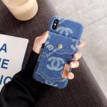 限定ブランド コピー風 アイフォンケース スーパーコピー 販売スーパー コピー通販iPhoneX/XS デニム携帯カバーケース 人気 ブランド