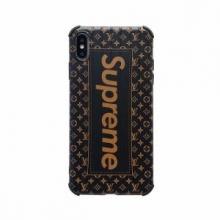 期間限定販売ヴィトン supreme 携帯ケース 人気  Louis Vuittonアイフォンケース コピー iPhoneX/XSケース 使いやすい コーデ