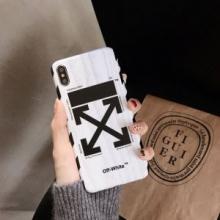 2色可選 携帯カバー 2019/2020年最新のブランド新品  Off-White バランスの取れたコーデスタイル オフホワイト お洒落が楽しめる秋冬新品