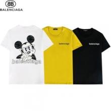 2021春夏 バレンシアガ BALENCIAGA 3色可選 半袖Tシャツ バレンシアガ偽物ブランド 人気販売中