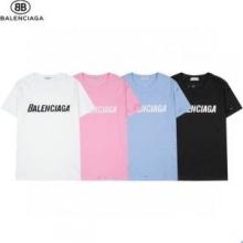 4色可選 BALENCIAGAブランド 耐久性のある バレンシアガ BALENCIAGA 半袖シャツ 2021春夏